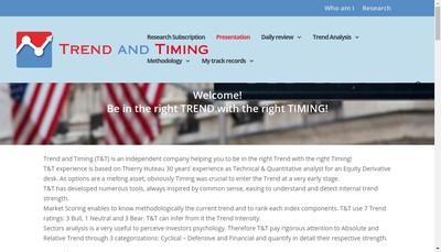 Site internet de Trend And Timing SASU