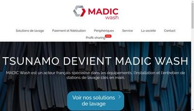 Site internet de Madic Wash