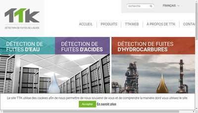 Site internet de TTK