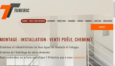 Site internet de Tuberic