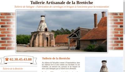 Site internet de Tuilerie de la Breteche