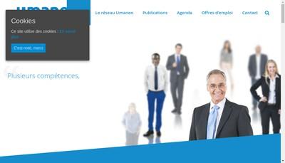Site internet de Umaneo