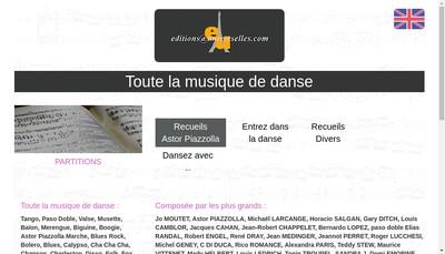 Site internet de Editions Universelles