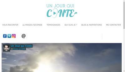 Site internet de Un Jour Qui Conte