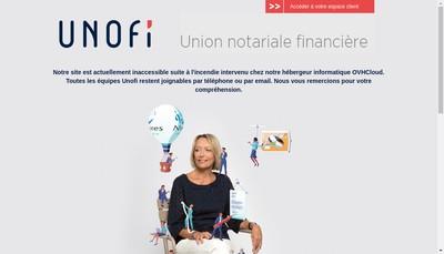 Site internet de Unofi-Gestion