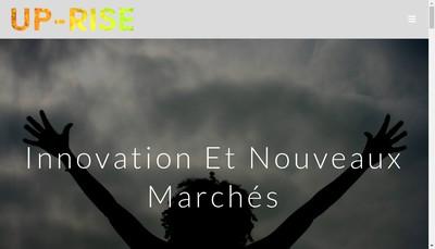 Site internet de Up-Rise