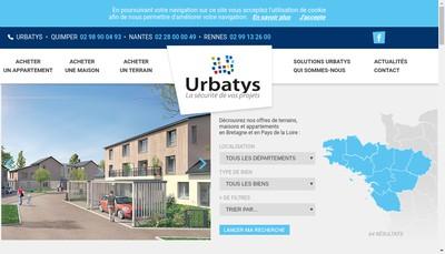 Site internet de Urbatys