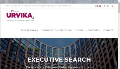 Site internet de Alfa Formation Conseil et Urvika