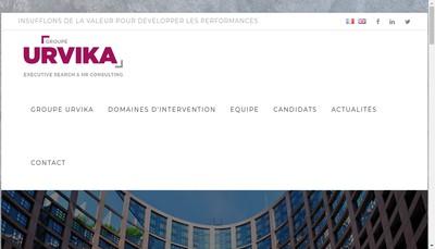 Site internet de Urvika