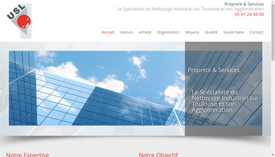 Site internet de Usl