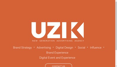 Site internet de Uzik Event