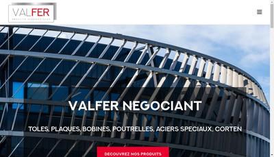 Site internet de Valfer