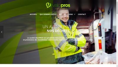 Site internet de Valoma Environnement