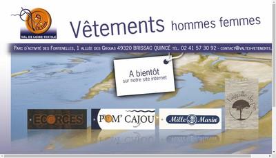 Site internet de SA Valtex