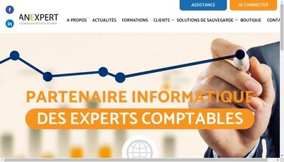 Site internet de Vanexpert