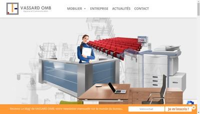 Site internet de Vassard-Omb-Mobilier