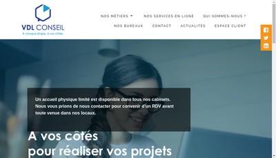 Site internet de Vdl Conseil