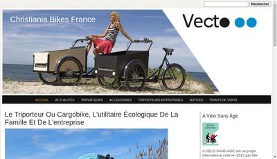Site internet de Vecto