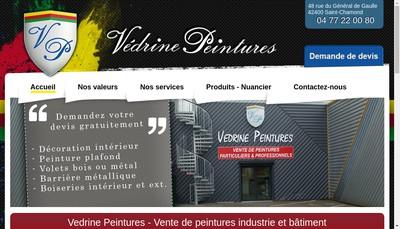 Site internet de Vedrine Peinture
