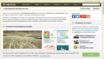 Site internet de Vedura