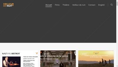 Site internet de Veilleur de Nuit Production