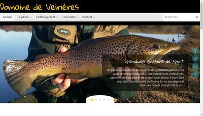 Site internet de SARL Veirieres Evasion