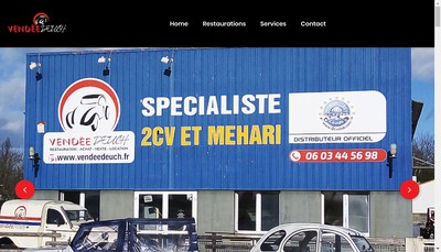 Site internet de Vendee Deuch