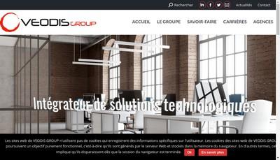 Site internet de Balain Veodis Telecom Informat Securite