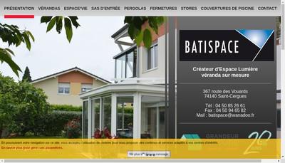 Site internet de Batispace