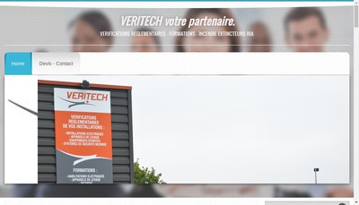 Site internet de Veritech