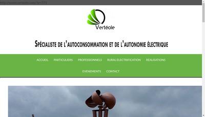 Site internet de Verteole