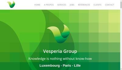 Site internet de Vesperia