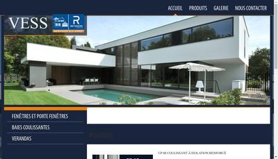 Site internet de Vess