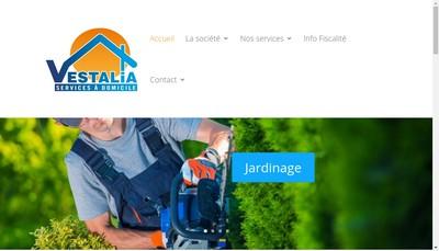 Site internet de Vestalia Services