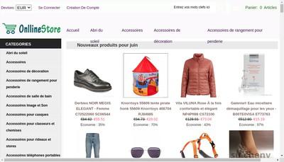 Site internet de Christien - Vetements Cariou