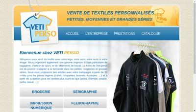 Site internet de Veti-Perso
