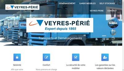Site internet de Transports Veyres Perie