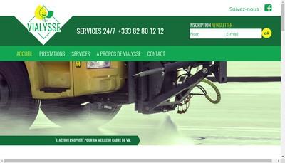 Site internet de Vialysse