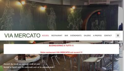 Site internet de Le Mercato