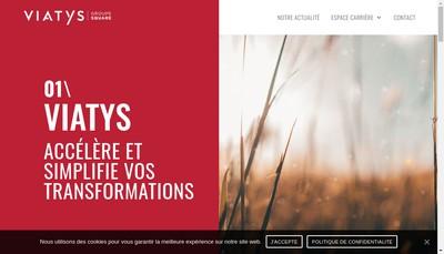 Site internet de Viatys Conseil