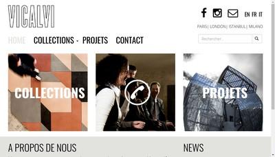 Site internet de Vicalvi Contract
