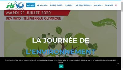 Site internet de Association Vie Val d'Is