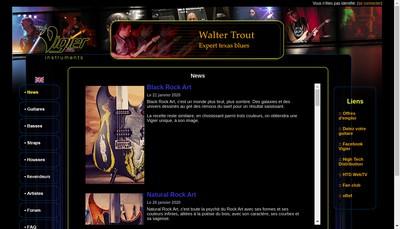 Site internet de Vigier