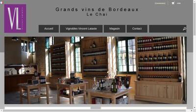 Site internet de Bureau Vincent Lataste