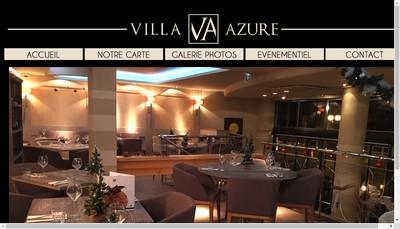 Site internet de Villa Azure