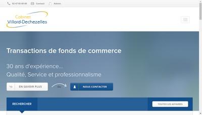 Site internet de Cabinet Villard Dechezelles