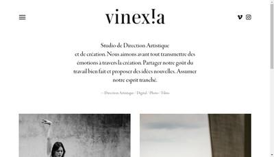 Site internet de Vinexia