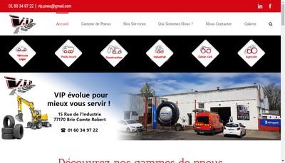 Site internet de Vip