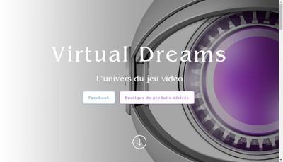 Site internet de Virtual Dreams