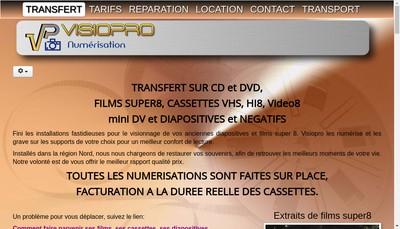 Site internet de Visiopro
